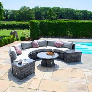 Wisner 6 Seater Rattan Sofa Set By Sol 72 Outdoor