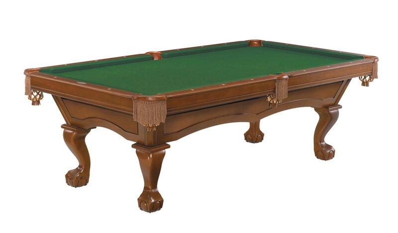 Brunswick Billiards Broadmoor Billiards Package Pool Table - Brunswick pool table ping pong top
