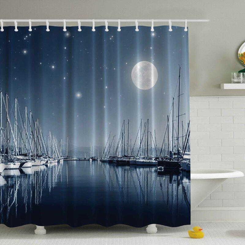 Pier in the Moonlight Shower Curtain from Wayfair!