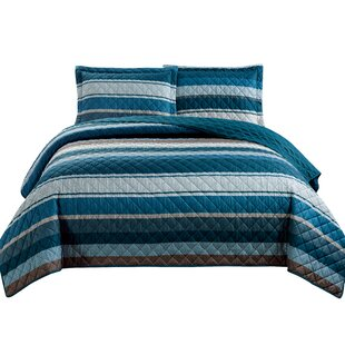 Haffenreffer 3 Piece Reversible Quilt Set