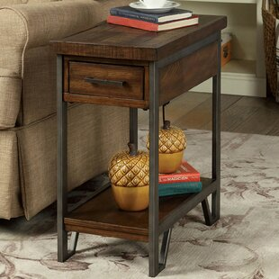 Mccoy End Table with Storage by 17 Stories