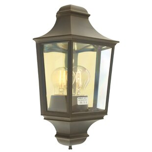Holtby 1 Light Outdoor Flush Mount By Ophelia & Co.