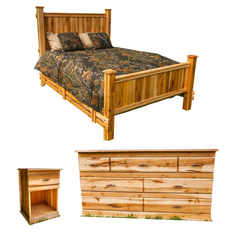 MountainWoodsFurniture Nativ Living™ Mountain Maple Panel ...