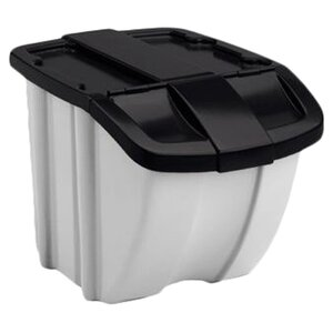 Storage Trends 18 Gallon Trash Can (Set of 2)