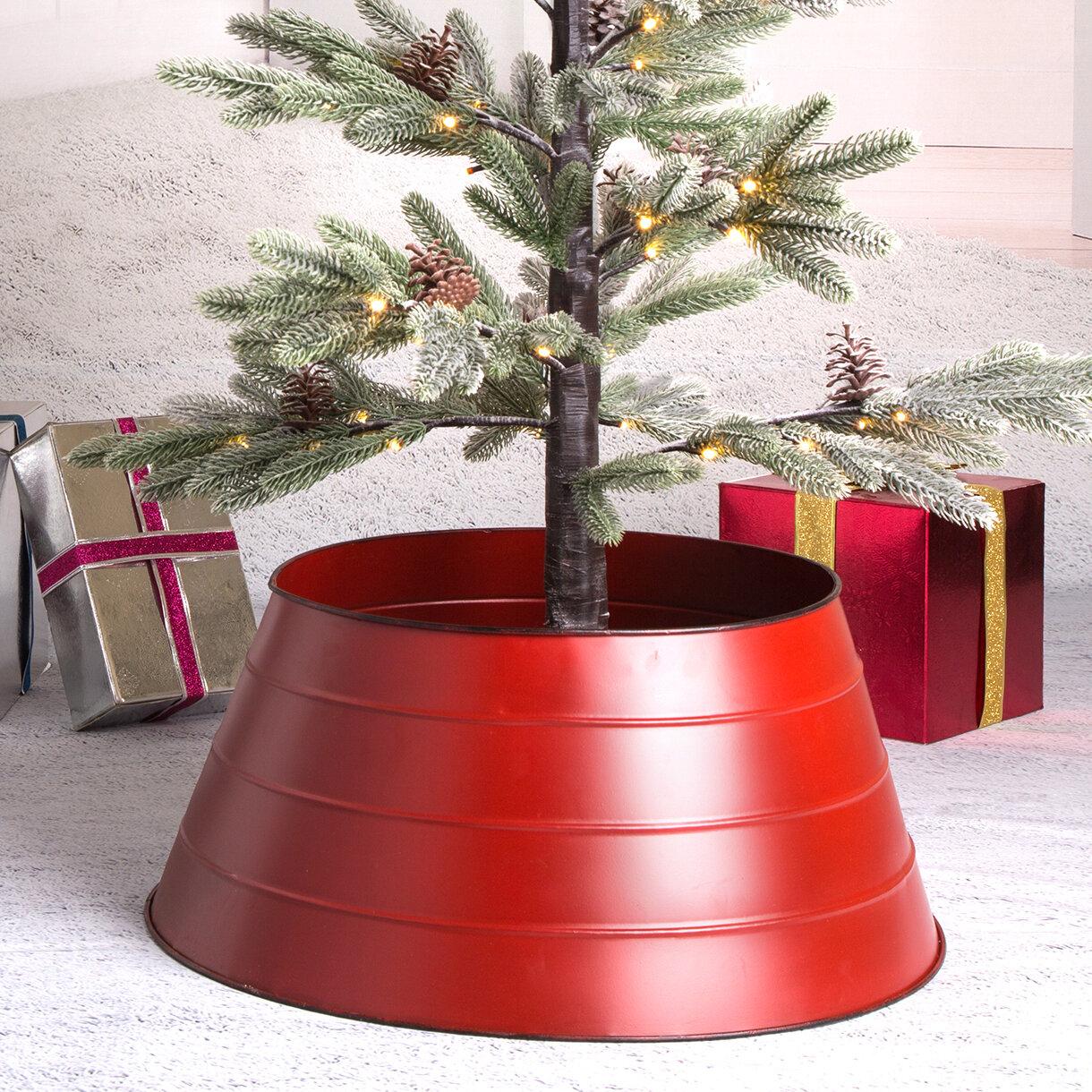 Metal Tree Collar Christmas Tree Skirts Collars You Ll Love In 2021 Wayfair