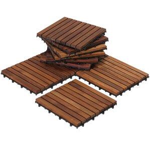 Outdoor Deck Tiles Planks You Ll Love Wayfair