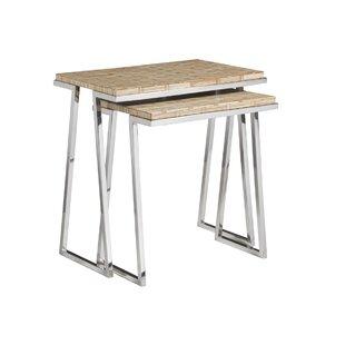Signature Designs 2 Piece Nesting Tables By Artistica Home