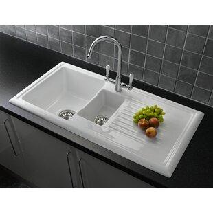1 1 2 Bowl Inset Kitchen Sink