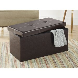 Alline Collapsible Storage Bench