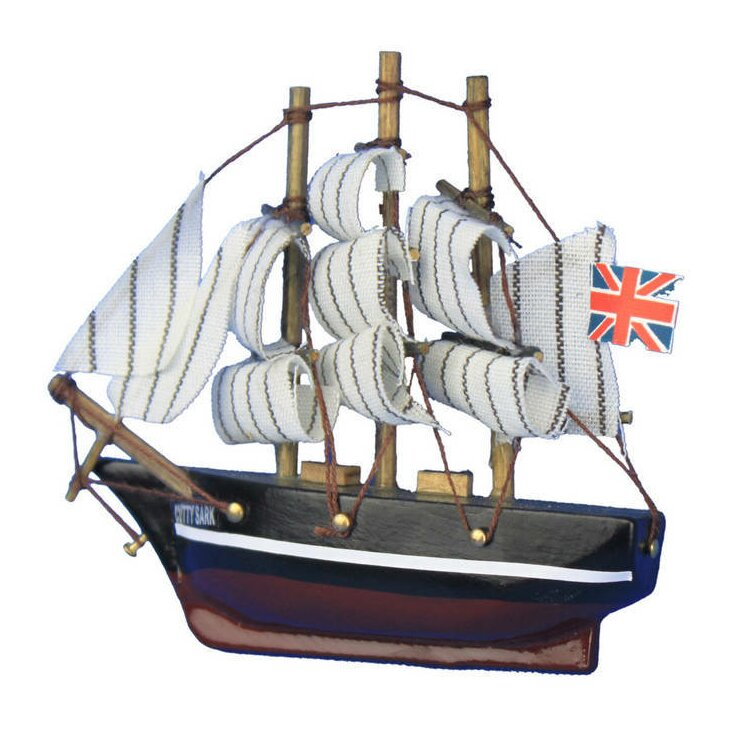 Handcrafted Nautical Decor Cutty Sark Tall Magnet Clipper Model Ship ...