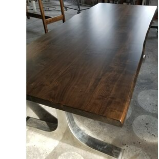 Selden Live Edge Maple Dining Table