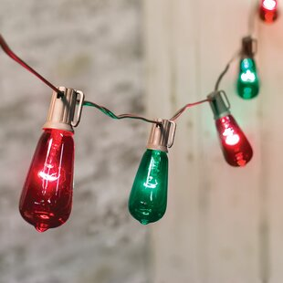 Craft House Designs 10 Edison Lantern String Lights