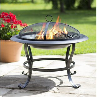 Enrique Steel Wood Burning Fire Pit By Sol 72 Outdoor