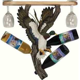 Southwood Mallard 3 Hanging Wine Bottle Rack