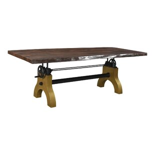 Clarissa Solid Wood Dining Table by 17 Stories