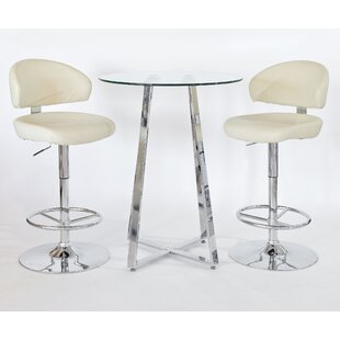 Review Shanon 3 Piece Pub Table Set