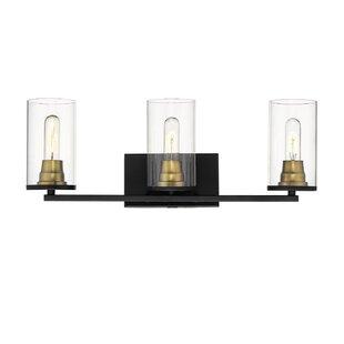 Walling 3-Light Vanity Light by Williston Forge