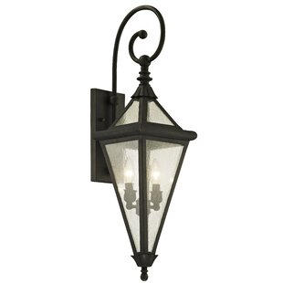 Darby Home Co Nautilus 2-Light Outdoor Wall Lantern