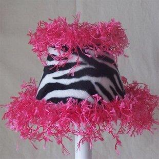 Zany Zebra 11 Fabric Empire Lamp Shade