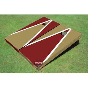 All American Tailgate Alternating Triangle Cornhole Board (Set of 2)
