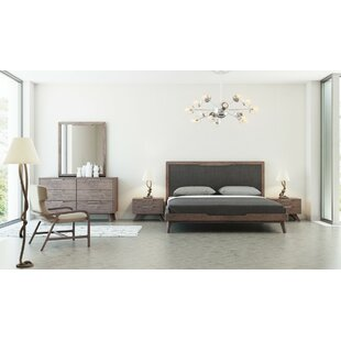 modern wood bedroom furniture. Hali Platform 5 Piece Bedroom Set Modern Wood Furniture