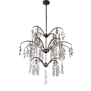 CWI Lighting Napan 16-Light Crystal Chandelier
