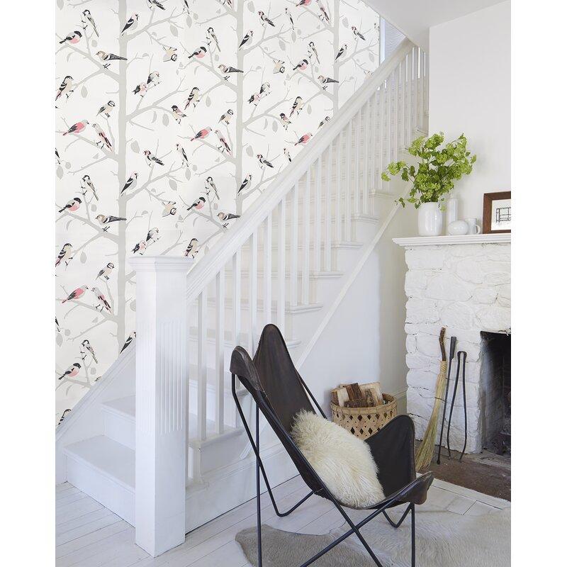 Schumacher A Twitter 13 5 L X 27 W Wallpaper Roll Wayfair