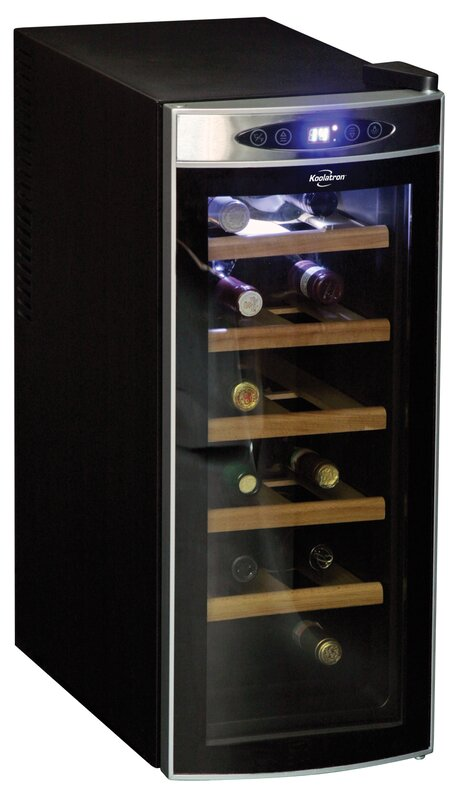 12 Bottle Wine Fridge Part - 21: 12 Bottle Single Zone Freestanding Wine Cooler