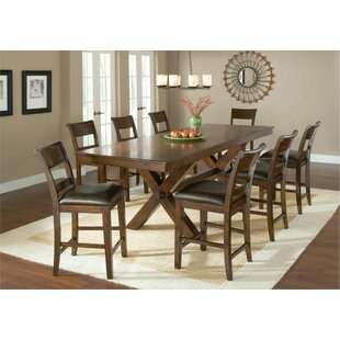 Superbe Fernson 9 Piece Counter Height Dining Set