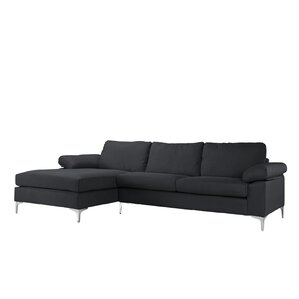 Manhasset Modern Large Sectional  sc 1 st  AllModern : modern sofa with chaise - Sectionals, Sofas & Couches