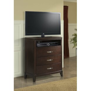 Mcduffie 3 Drawer Media Chest
