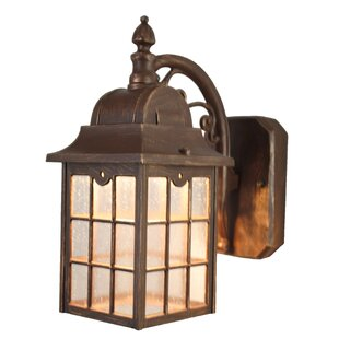 Compare & Buy Flannigan 1-Light Outdoor Wall Lantern By Charlton Home