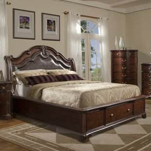 Alanya Sleigh Configurable Bedroom Set by Astoria Grand