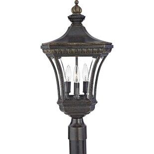 Millbrook Outdoor 3-Light Lantern Head by Three Posts