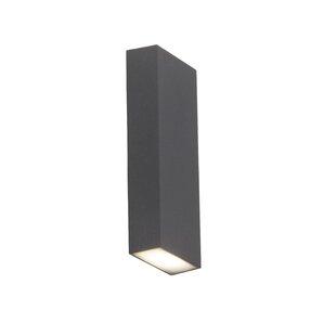 Tivana 2-Light LED Outdoor Flush Mount By AEG Lighting