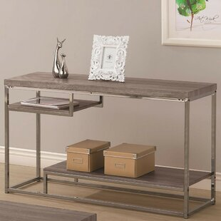 Review Nederland Contemporary Wooden Console Table By Ivy Bronx