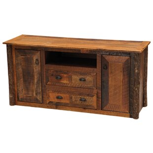 Barnwood Widescreen TV Stand for TVs up to 58