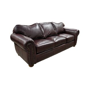 Monte Carlo Leather Sofa Bed