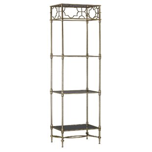 Mara Three Shelf Etagere Bookcase
