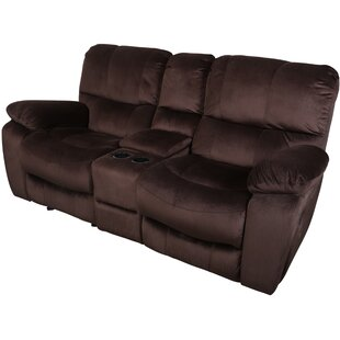 Carraton Solid Reclining Loveseat