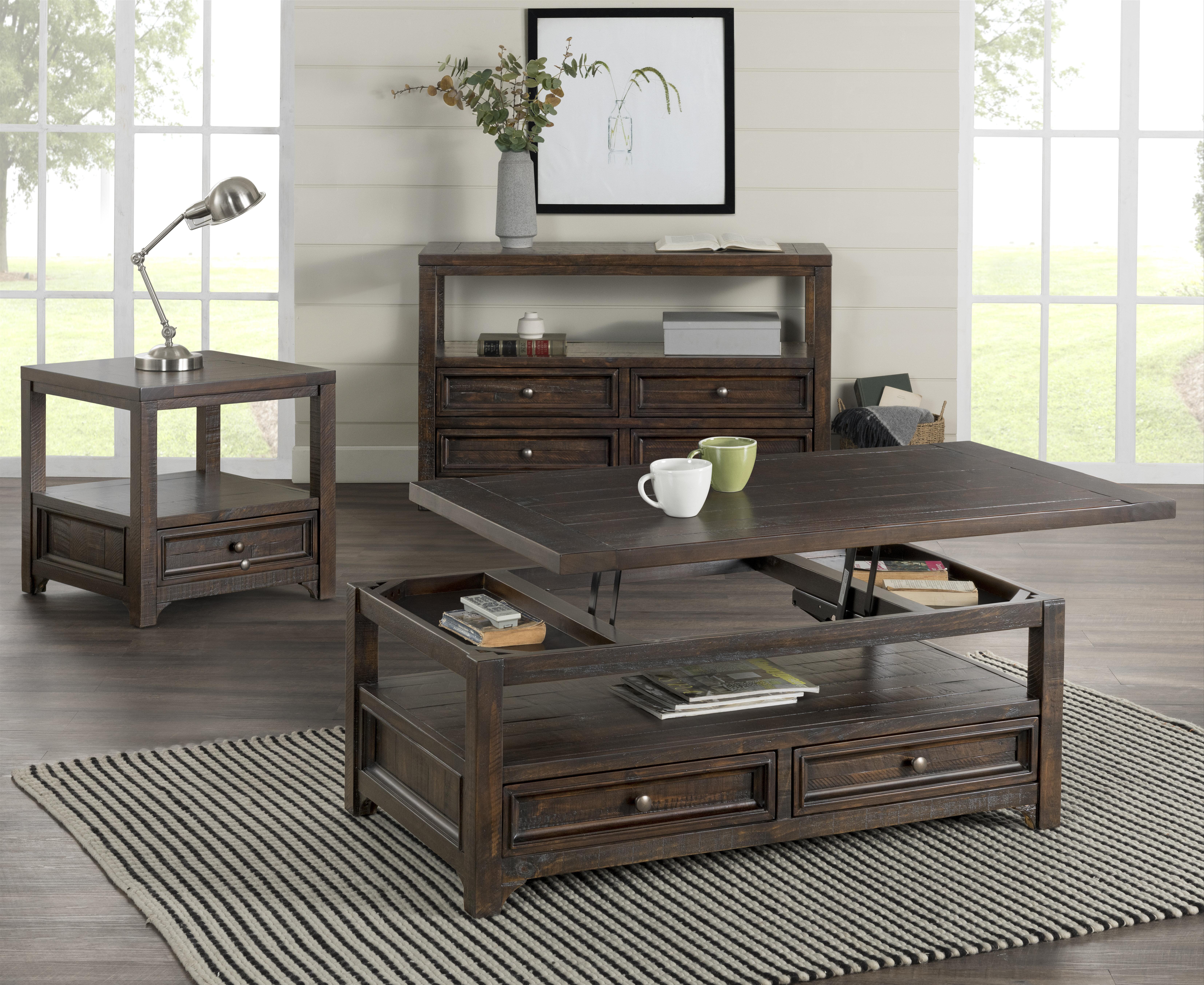 Canora Grey Flynn Configurable 2 Piece Coffee Table Set Reviews Wayfair