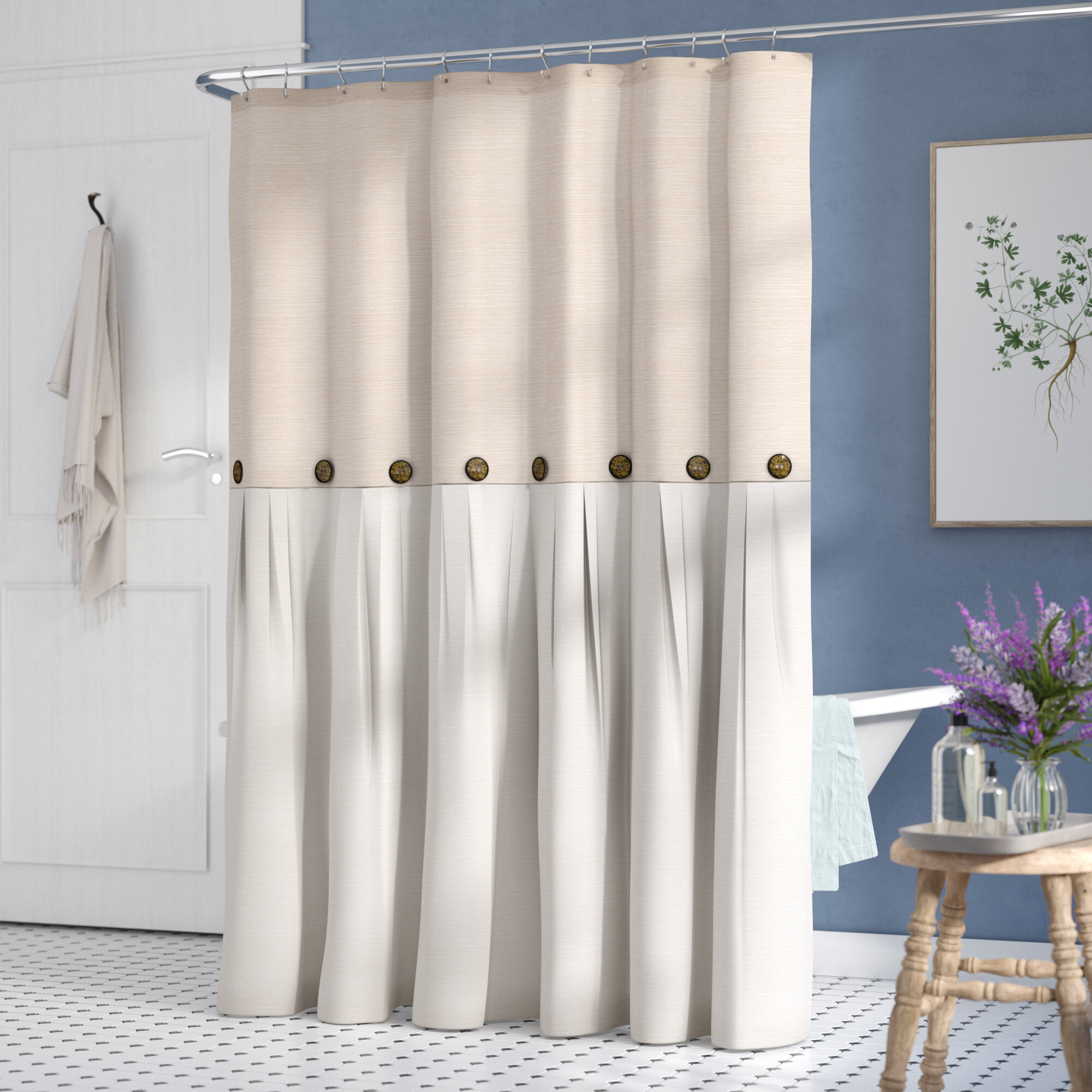 Polyester Shower Curtains You Ll Love In 2020 Wayfair