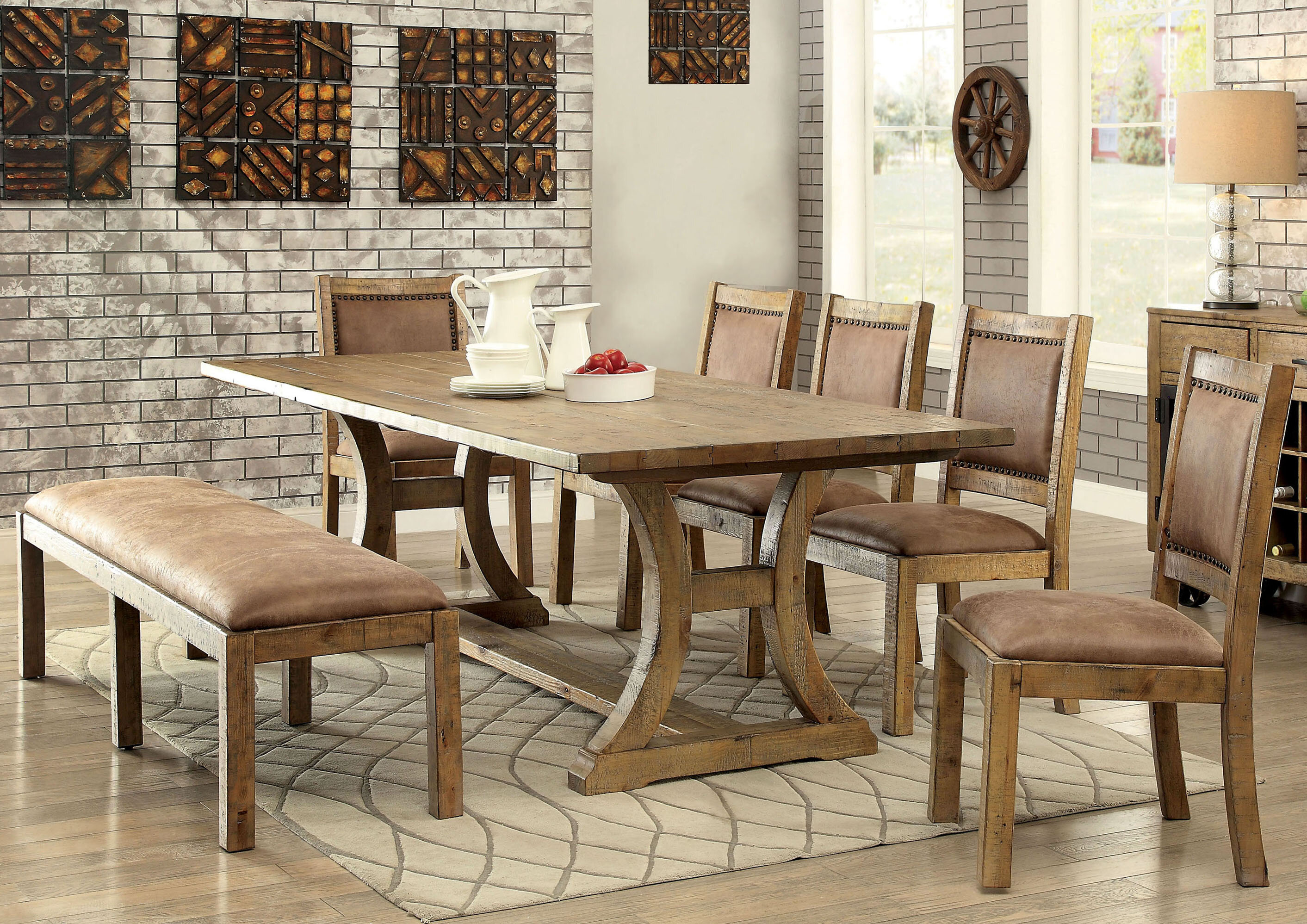 Loon peak marion dining table wayfair
