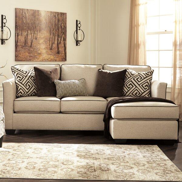 Benchcraft Carlinworth Sofa Chaise Sleeper U0026 Reviews | Wayfair