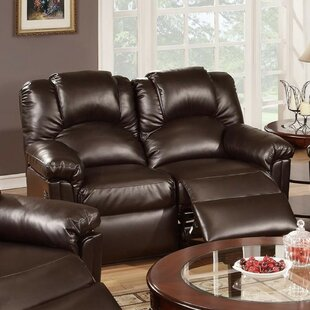 Rouse Reclining Loveseat by Charlton Home 2019 Sale