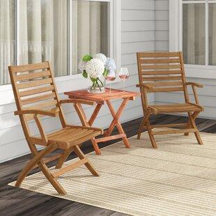 Folding Patio Dining Chairs You Ll Love Wayfair