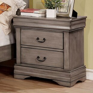 Jaden 2 Drawer Nightstand by Alcott Hill