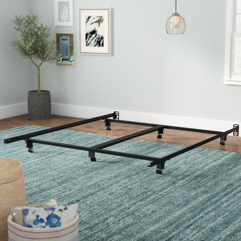 Symple Stuff Steelock Super Duty Metal Bed Frame & Reviews | Wayfair