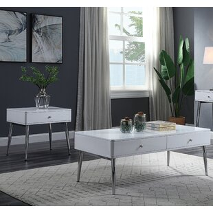 Hedvika 2 Piece Coffee Table Set By Orren Ellis