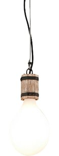 Holford 1-Light Bulb Pendant by Williston Forge